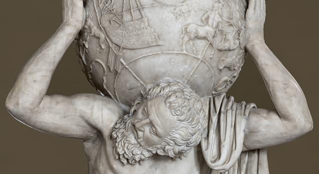 Культура Вопрос: Какой титан в древнегреческой мифологии держал на плечах небесный свод?