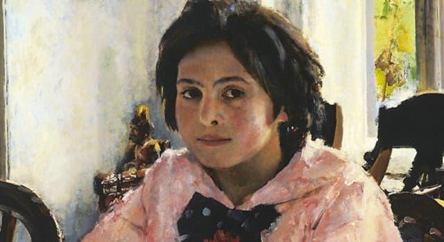 Культура Вопрос: Кто написал картину «Девочка с персиками»?