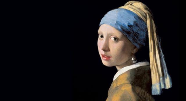 """Культура Вопрос: Кто написал картину """"Женщина с жемчужной серёжкой""""?"""
