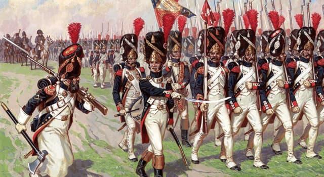 История Вопрос: На какие две части была разделена французская гвардия в 1807  году?