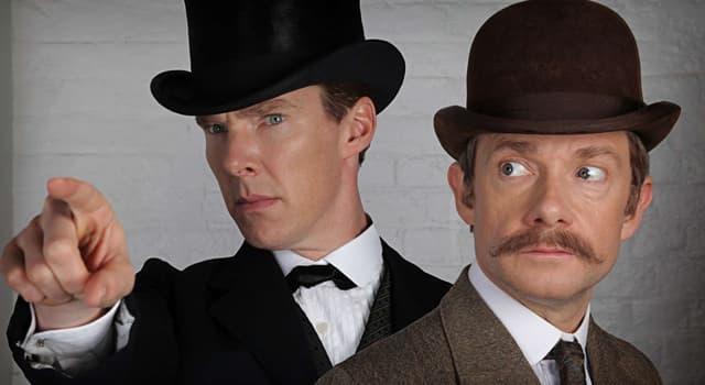 Культура Вопрос: На какой улице жил Шерлок Холмс?