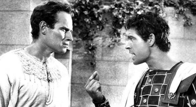 Películas y TV Pregunta Trivia: ¿Por qué motivo Rock Hudson rechazó el rol protagónico en la película Ben-Hur?