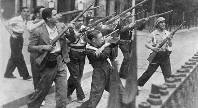Cultura Pregunta Trivia: ¿Qué cuadro simboliza el horror de La Guerra Civil Española?