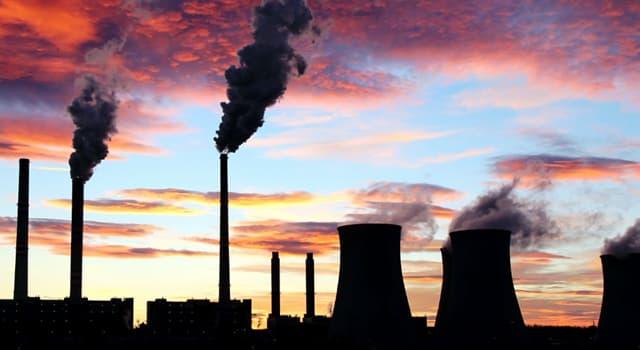 Сiencia Pregunta Trivia: ¿Qué gases son los principales responsables del cambio climático actual?