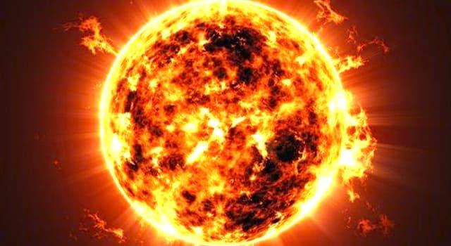 Cultura Trivia: ¿Qué tipo de estrella es el Sol?