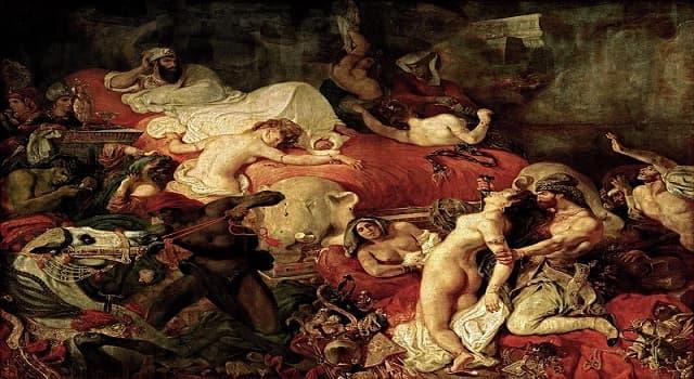 Cultura Pregunta Trivia: ¿Quién pintó el óleo La muerte de Sardanápalo?