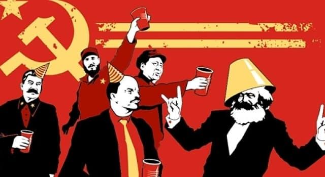 """Sociedad Pregunta Trivia: ¿Quiénes escribieron """"El Manifiesto Comunista"""" y """"El Capital""""?"""