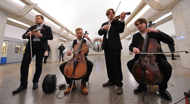 Культура Вопрос: В каком городе музыкантам для зарабатывания денег в метро необходима специальная лицензия?