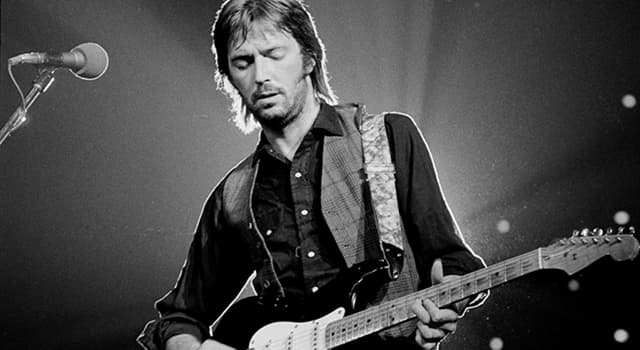 Culture Trivia Question: What was the name of the first band Eric Clapton played in?