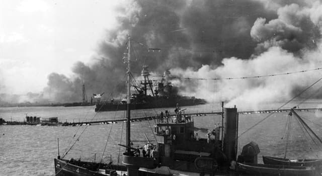 History Trivia Question: What was the only U.S. battleship to be present at both the Japanese attack on Pearl Harbor and at the D-Day Normandy landings?
