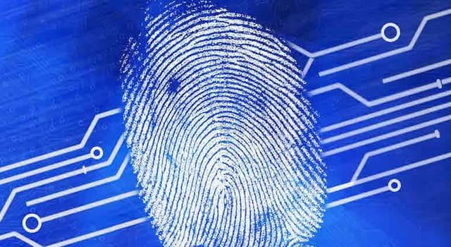 History Trivia Question: Where was fingerprinting invented?