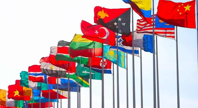 Geography Trivia Question: Which country does not have a bird on its flag?