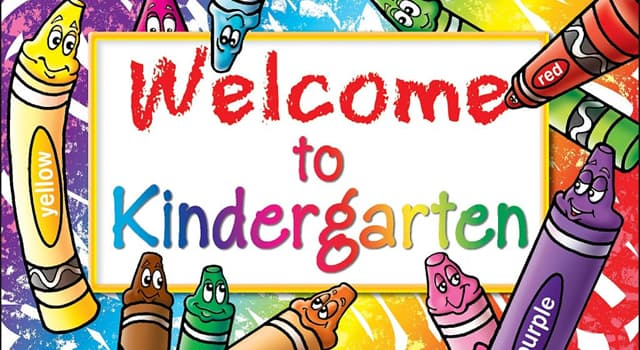 Society Trivia Question: Which group established the first kindergartens in the United States?