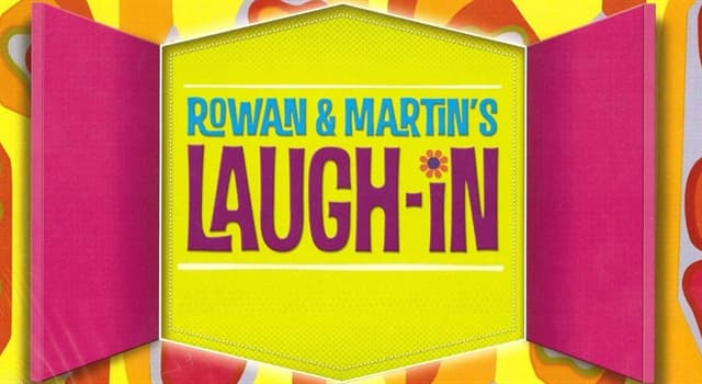 """Movies & TV Trivia Question: Which rugged movie star once appeared in a pink bunny suit in an episode of the U.S. TV series """"Rowan & Martin's Laugh-In""""?"""