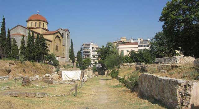 Geschichte Wissensfrage: Wer gründete die antike Philosophenschule namens Akademeia?