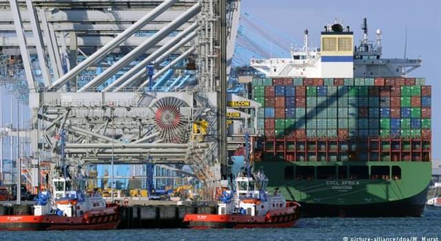 Geografía Trivia: ¿Cuál es el mayor puerto de Europa?