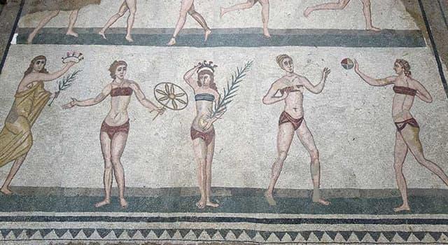 Historia Trivia: ¿En qué ciudad europea se encuentra el mosaico romano de la imagen?