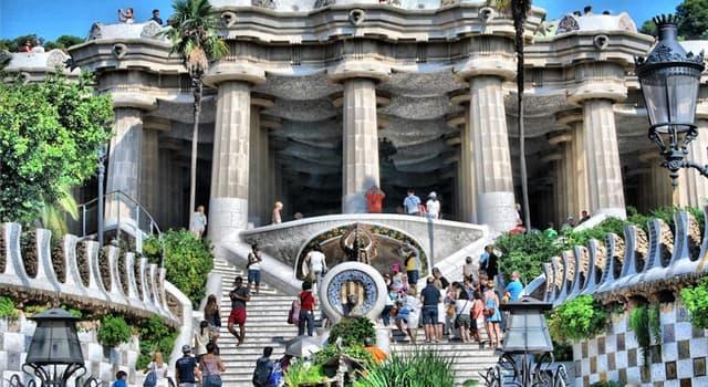 Geografía Pregunta Trivia: ¿En qué ciudad se encuentra el parque Güell?