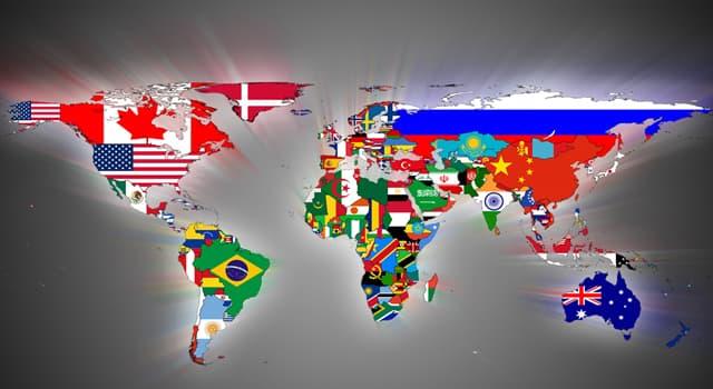 География Вопрос: Флаг какого из государств является единственным в мире, который имеет различные эмблемы на лицевой и обратной стороне?