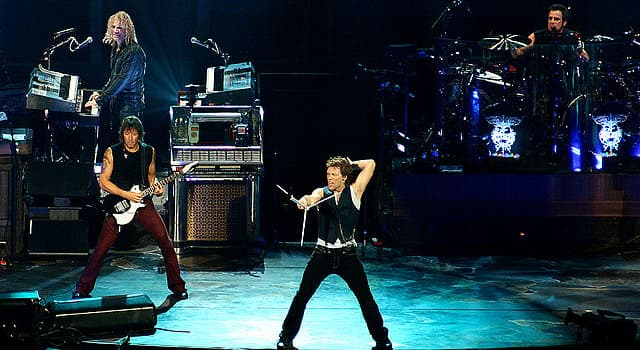 Society Trivia Question: In which U.S. town was the band 'Bon Jovi' formed in 1983?