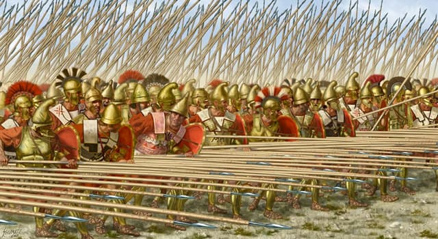 Культура Вопрос: Как называется знаменитое и часто использовавшееся боевое построение в античной Греции?