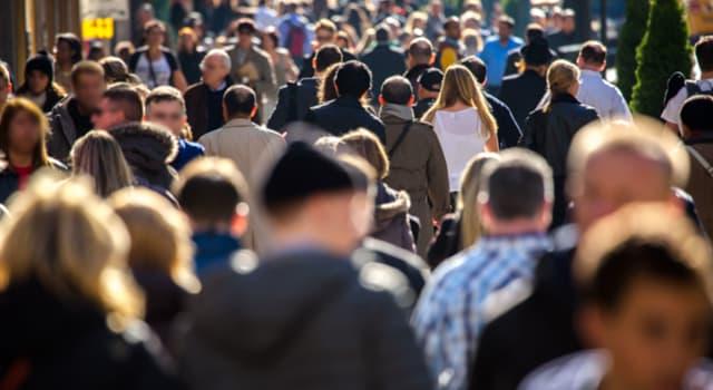 География Вопрос: Какая страна занимает третье место в мире по численности населения?