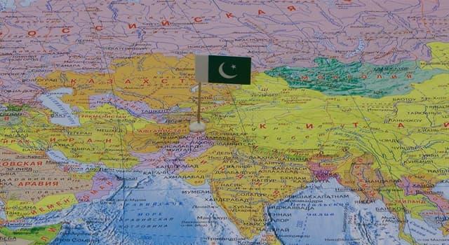 География Вопрос: Какое место в мире по численности населения занимает Пакистан?