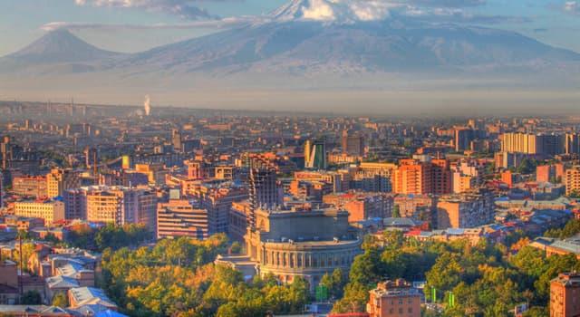 География Вопрос: Какой город является столицей Армении?