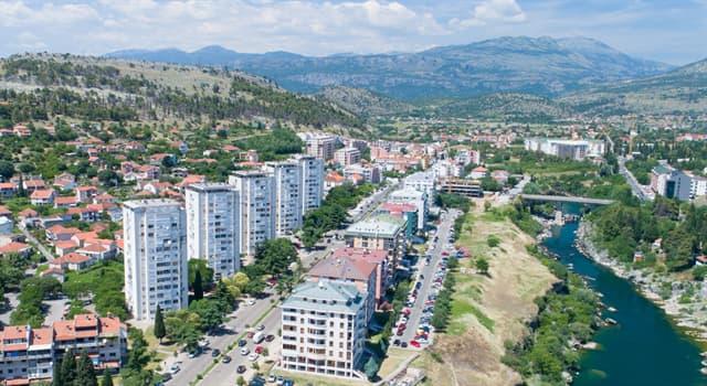 География Вопрос: Какой город является столицей Черногории?