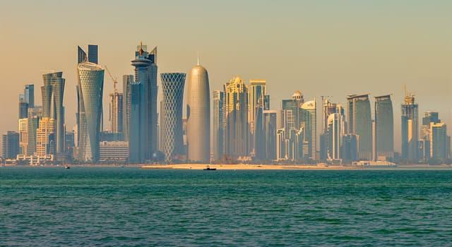 География Вопрос: Какой город является столицей государства Катар?