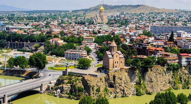География Вопрос: Какой город является столицей Грузии?