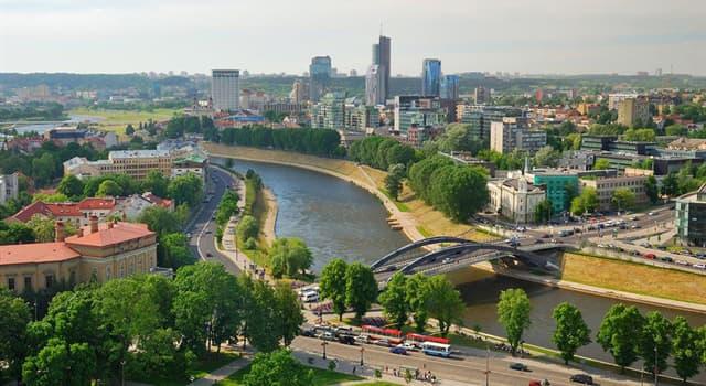 География Вопрос: Какой город является столицей Литвы?