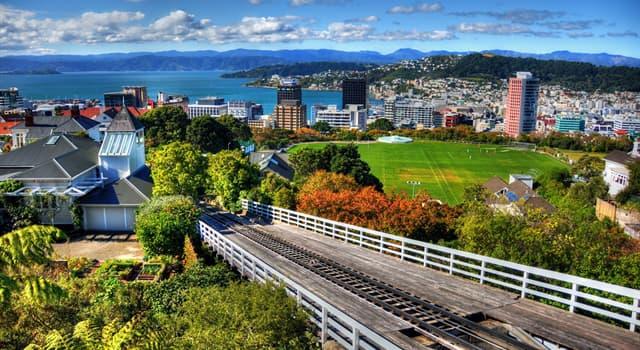 География Вопрос: Какой город является столицей Новой Зеландии?