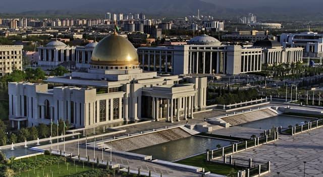 Geographie Wissensfrage: Was ist die Hauptstadt Turkmenistans?