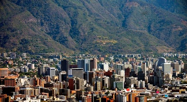 География Вопрос: Какой город является столицей Венесуэлы?