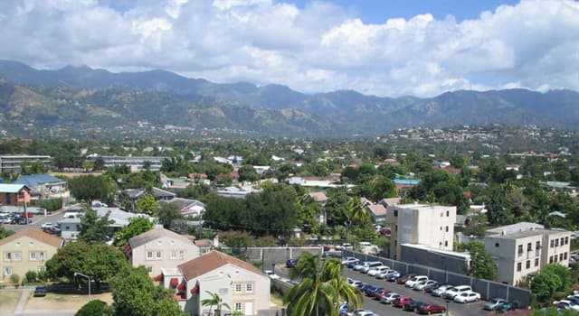 Geography Trivia Question: What is the capital of Jamaica?