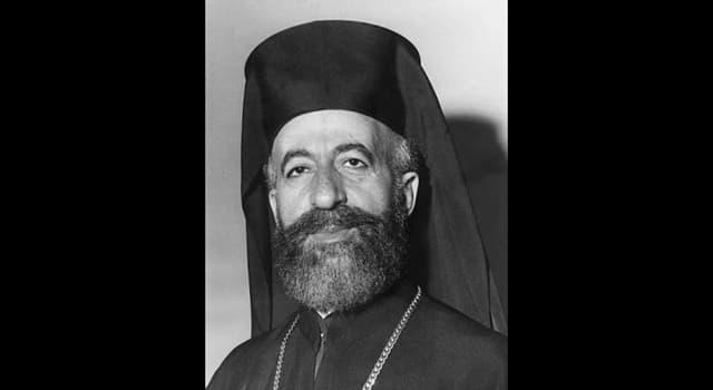 Historia Trivia: ¿Quién fue el primer presidente de la República de Chipre?