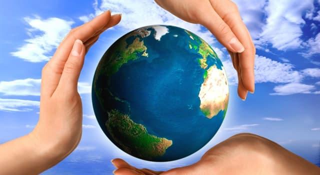 """Общество Вопрос: В какое время года проводят мероприятия, именуемые как """"День Земли"""" и призванные побудить людей быть внимательнее к окружающей среде?"""