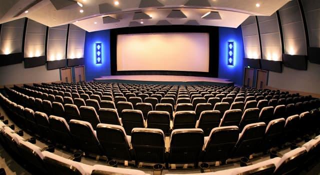 Культура Вопрос: В какой стране нет ни одного государственного кинотеатра?