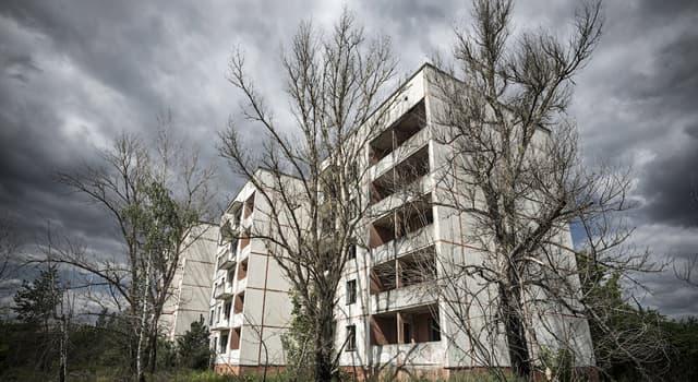 История Вопрос: В каком году произошла авария на Чернобыльской АЭС?