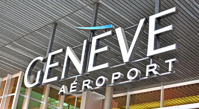 Culture Trivia Question: What is unusual about Geneva International Airport?