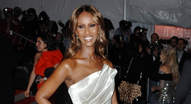 History Trivia Question: Which pop star married Zara Mohamed Abdulmajid (better known as the model Iman) in 1992?