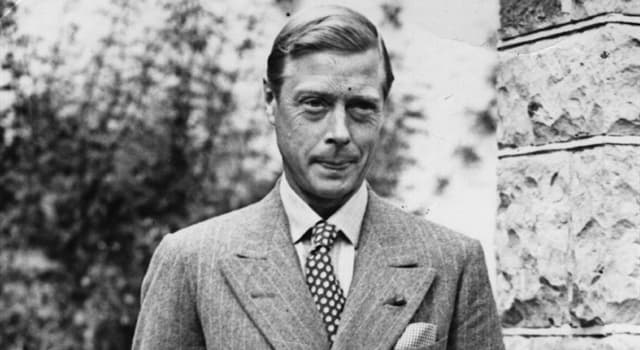 History Trivia Question: Who was the British Prime Minister at the time of Edward VIII's abdication?