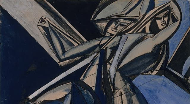 History Trivia Question: Wyndham Lewis co-founded which short-lived art movement of the 20th century?
