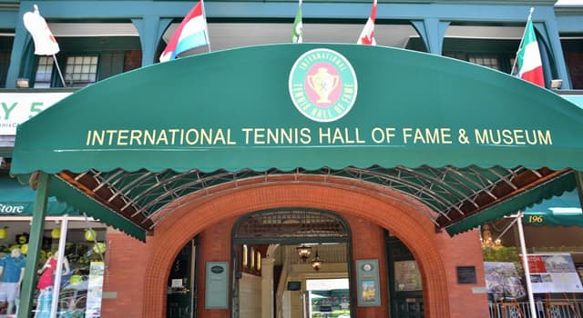 Sport Trivia Question: As of 2018, who is the youngest inductee of all time to the International Tennis Hall of Fame?