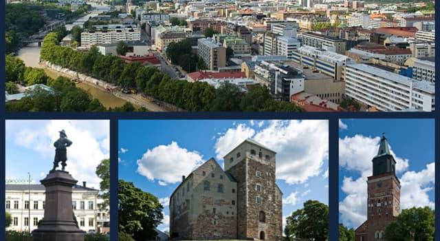 Geographie Wissensfrage: In welchem Land ist die Stadt Turku die älteste?