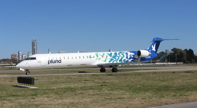 Geography Trivia Question: Which country did the airline Pluna come from?