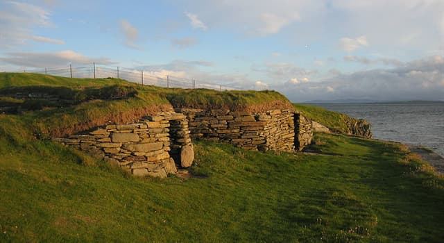 History Trivia Question: Which country is this Neolithic farmstead which may be the oldest preserved stone house in northern Europe?