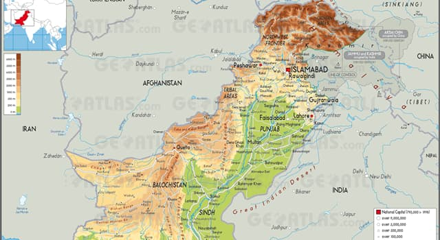 Which official language of Pakistan    | Trivia Questions