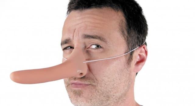 Kultur Wissensfrage: Wessen Nase wuchs beim Lügen?